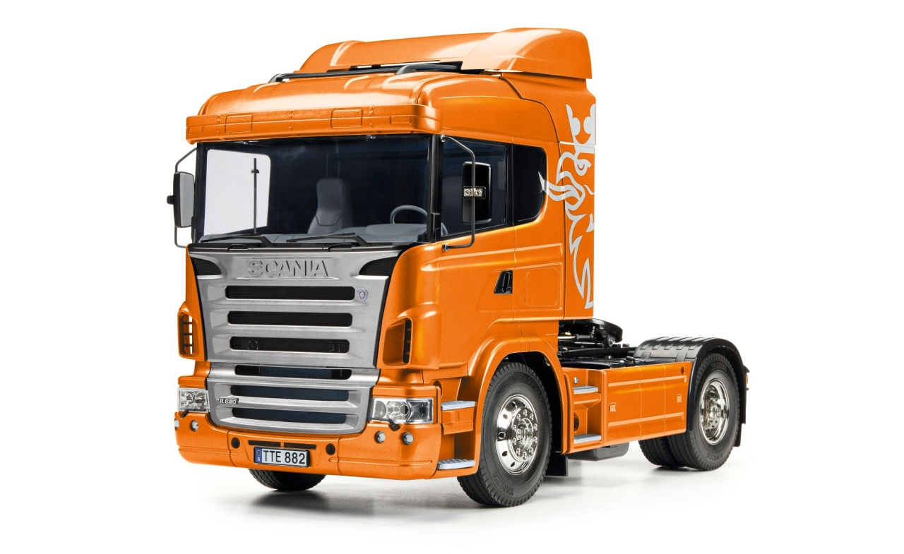 Tamiya 1:14 RC Scania R470 4x2 Orange