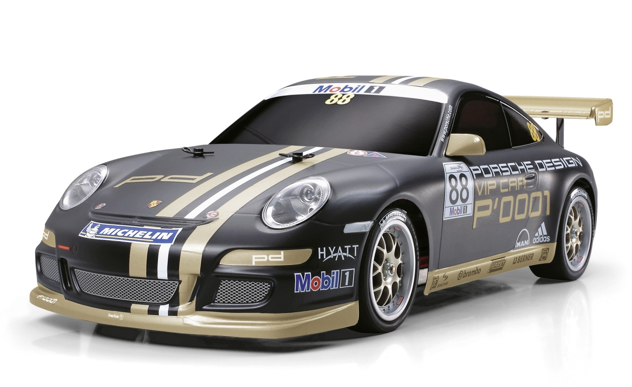 Tamiya 1:10 RC Porsche 911 GT3 CUP V