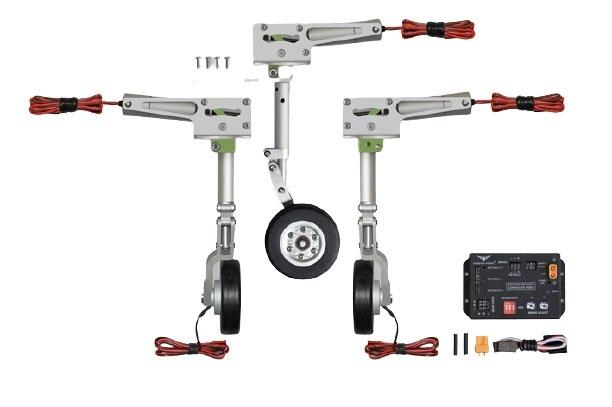 Phoenix elektrisches Einziehfahrwerk 3-Bein bis 10kg -