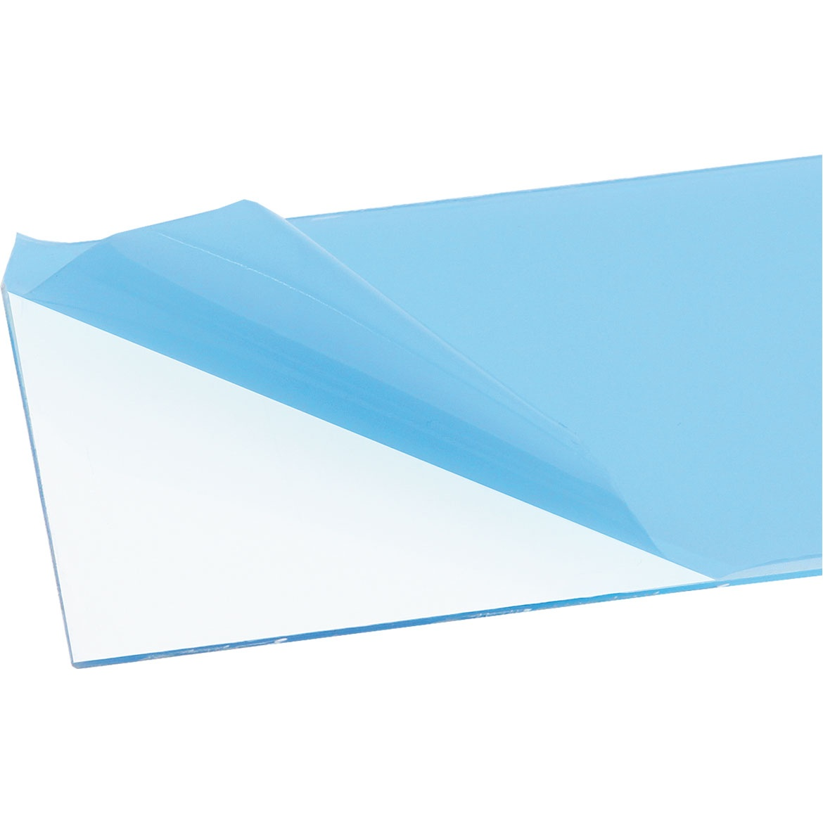 VIVAK-Platten transparent 0,5 mm ca.250 x 500 mm