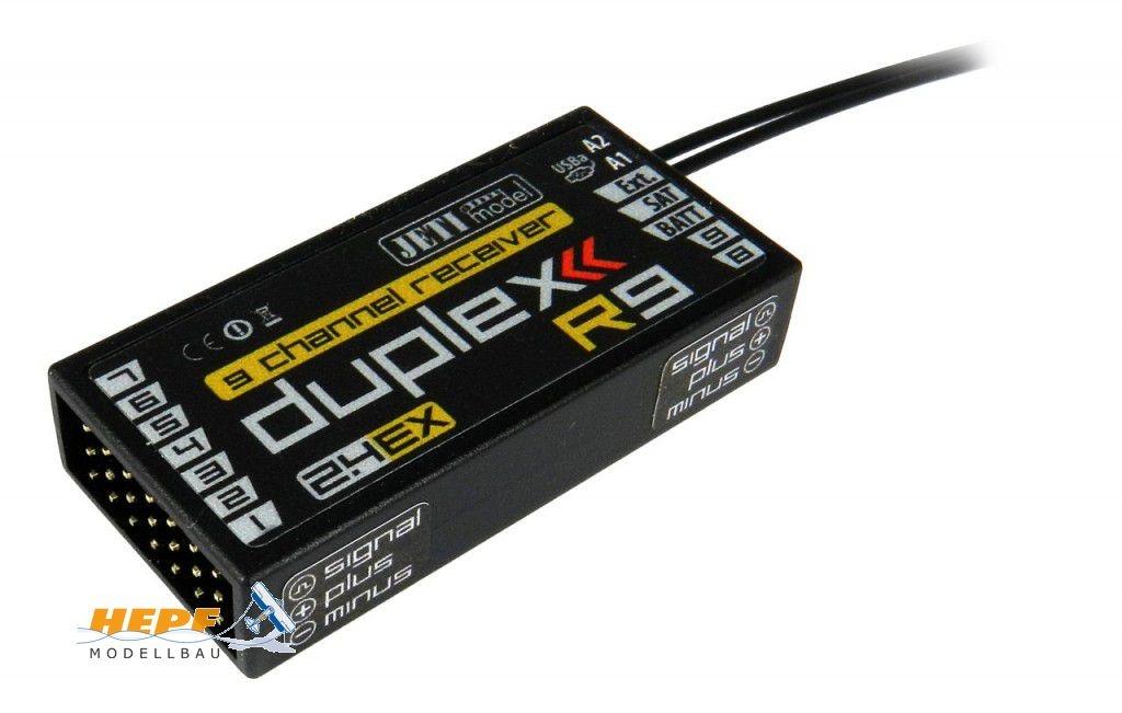 Jeti Empfänger Duplex 2.4EX R9 2,4GHz