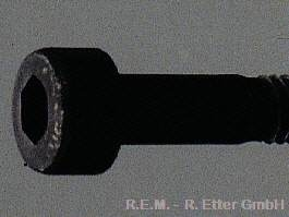 Innensechskant Schraube Stahl M 2,5x25 (10-er Packung)