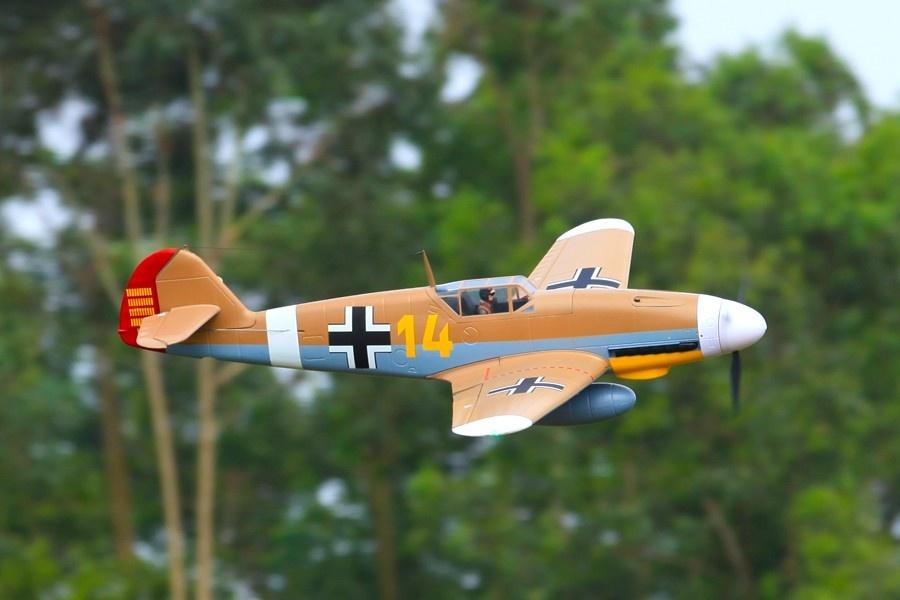 FMS Messerschmitt BF 109 F PNP - 140 cm