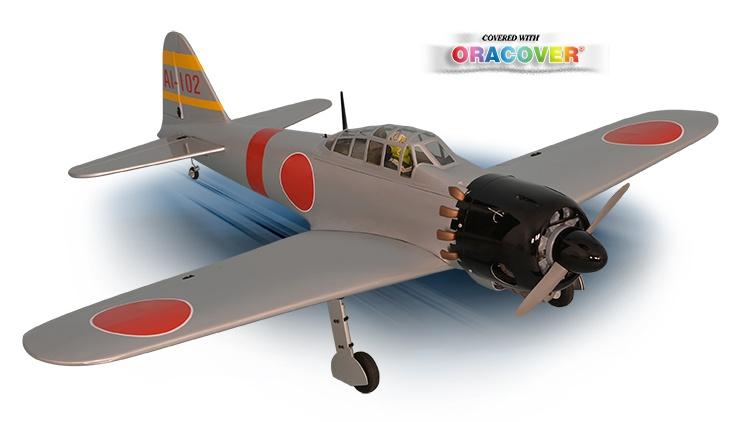 Phoenix Zero A6M ARF - 140 cm