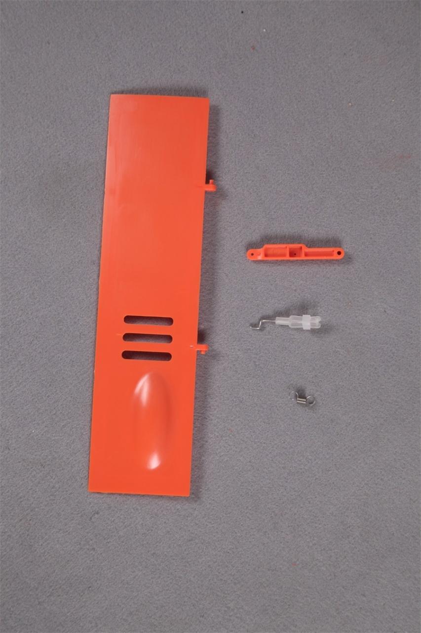 FMS Super Scorpion orange - Bugfahrwerksklappen