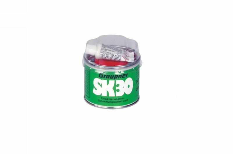 Graupner Schnellfüllspachtel SK30 2-Komponenten weiß
