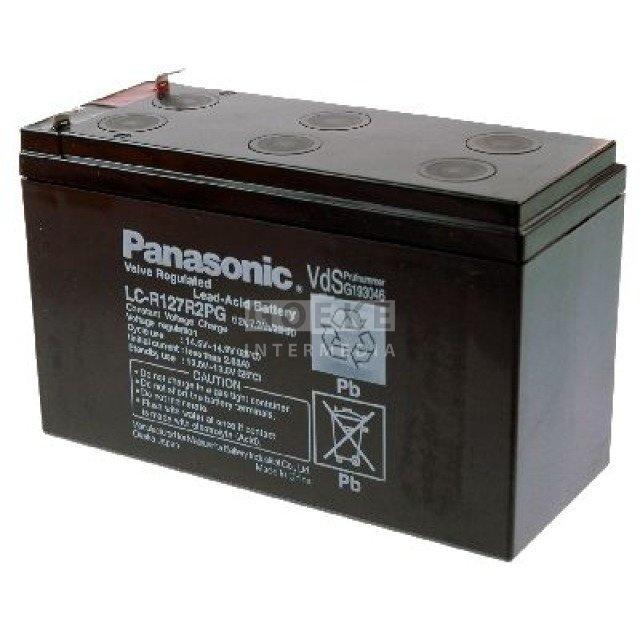 Panasonic Bleibatterie 12 Volt 7200 mAh