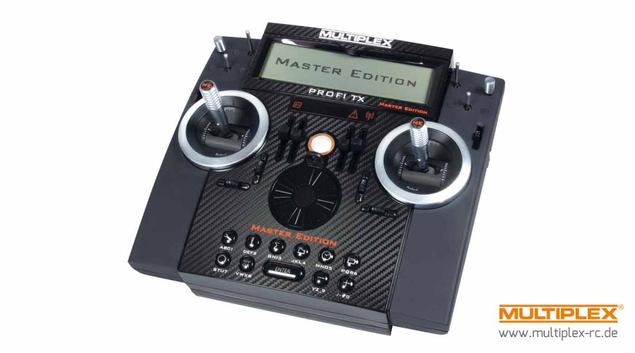 Multiplex PROFI TX16 M-LINK 2,4 GHz, MASTER-EDITION