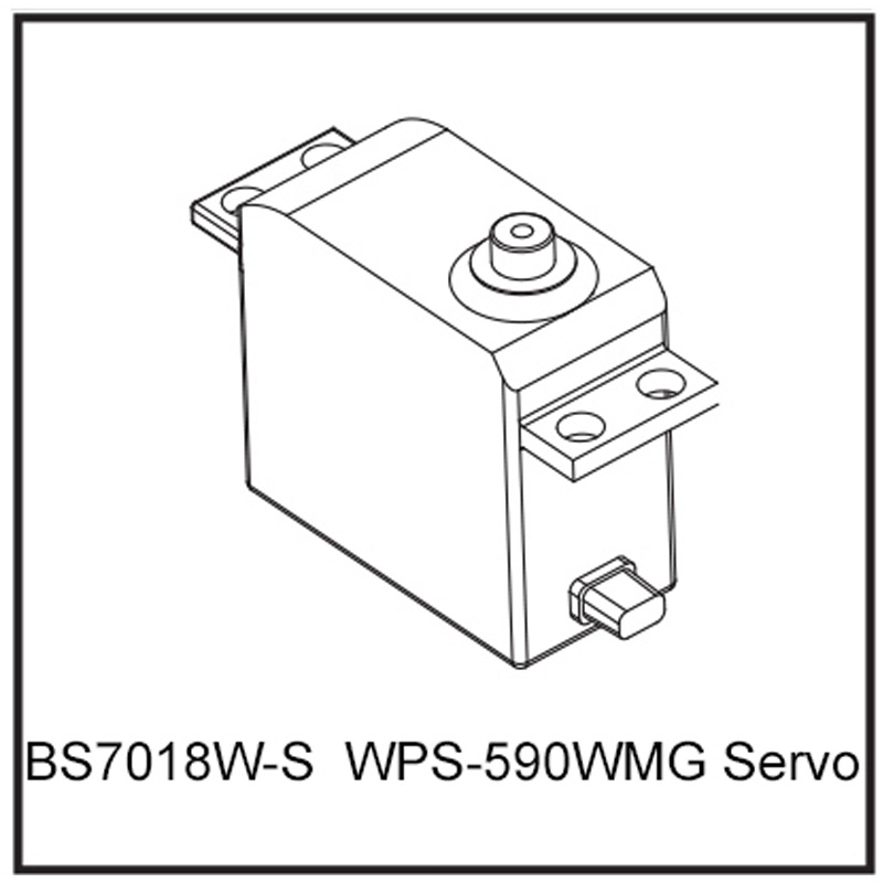 WPS-590WMG Servo - BEAST BX / TX