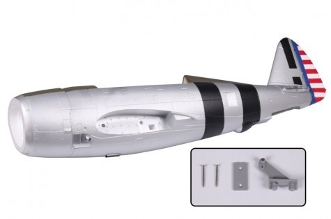 FMS P-47 Razorback - Rumpf