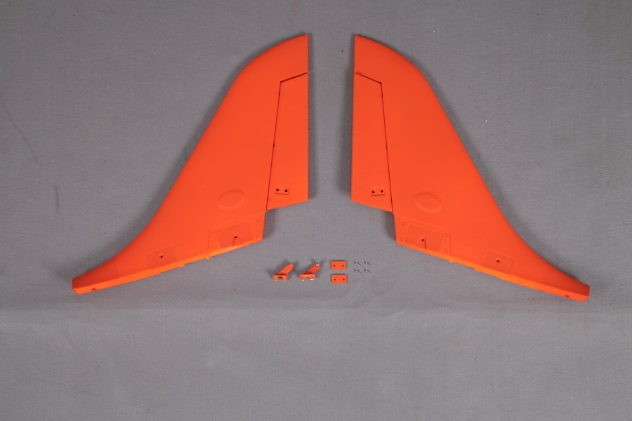 FMS Super Scorpion orange - Seitenruder (L+R)