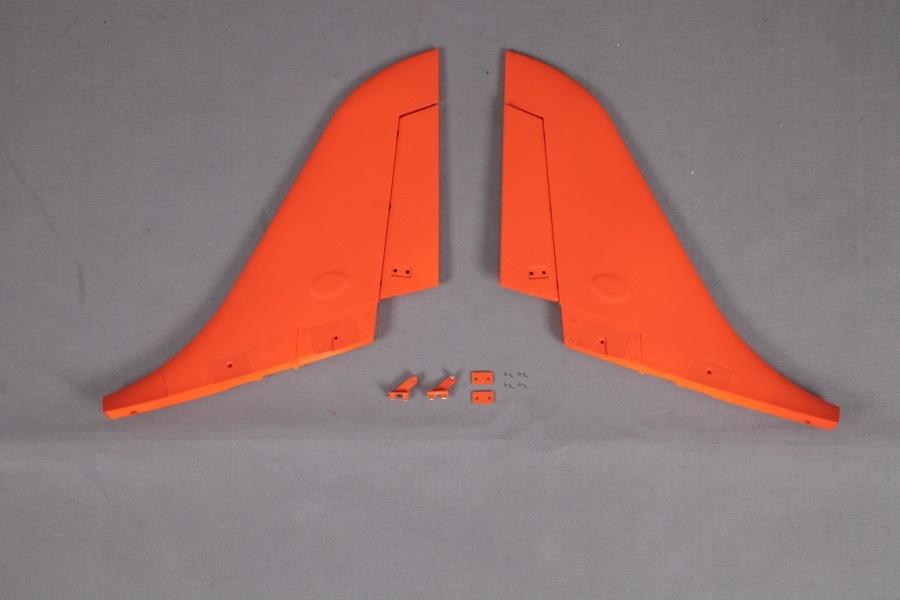 FMS Super Scorpion orange - Seitenruder (L+R)