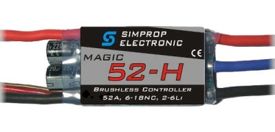 Magic 52-H Brushless Regler - Simprop