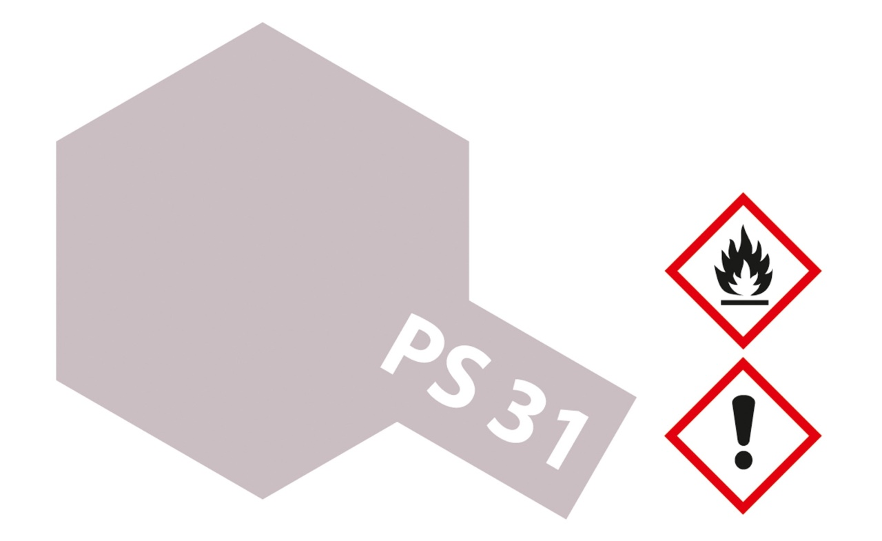 Tamiya PS-31 Rauch Transparent Polycarbonat 100ml