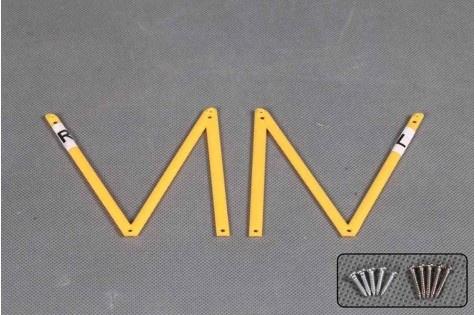 FMS Waco YMF-5D - Baldachin