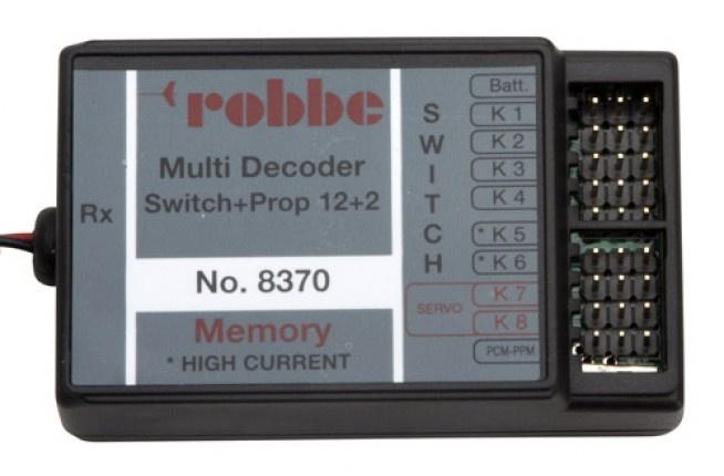 Multi Switch-Prop 12+2 Decoder