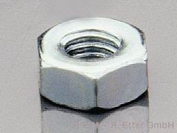 Sechskantmuttern Stahl M 5 (10er-Packung)