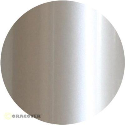 ORACOVER Bügelfolie perlmutt weiß