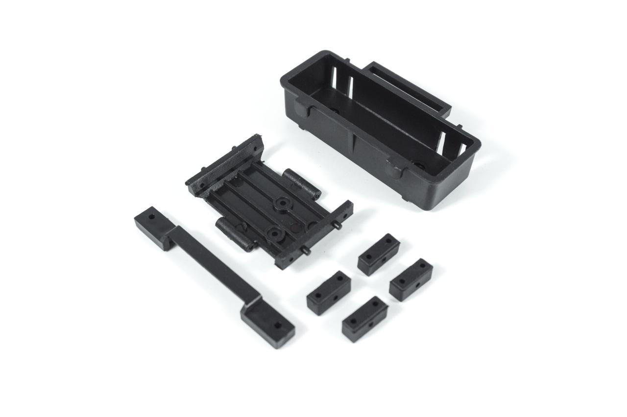 Rochobby ATLAS 6x6 - Übersetzungsgetriebe & Achsen Set