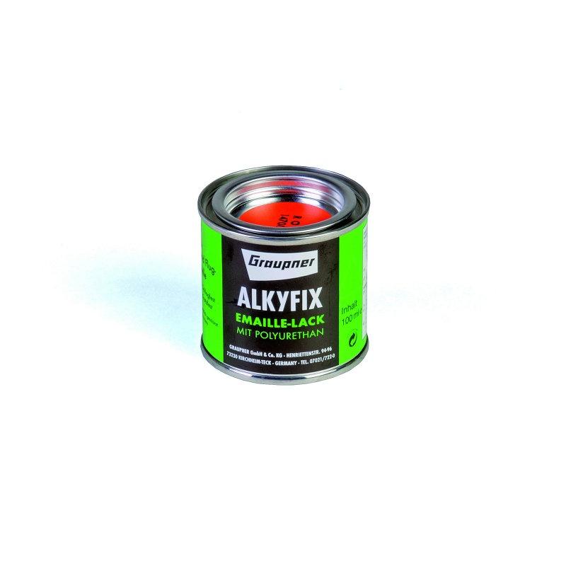 Graupner Alkyfix Emaillelack rot 100ml
