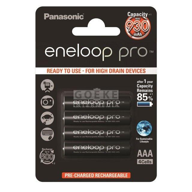 eneloop Pro AAA Micro 4-er Pack 4,8 Volt 900 mah