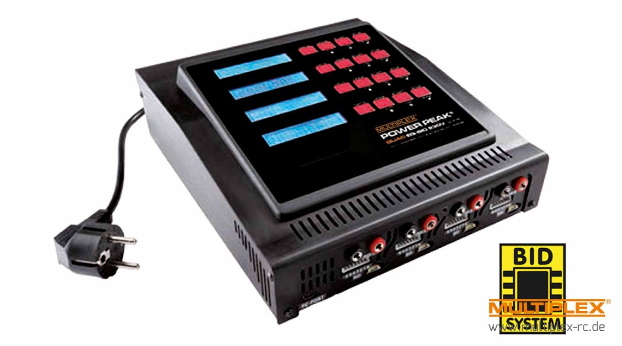 Multiplex POWER PEAK Quad EQ-BID 230V