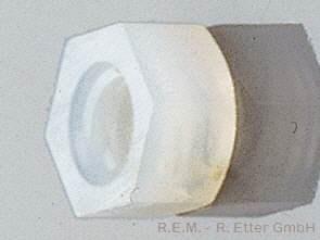 Sechskantmutter Nylon M 4 (10-er Pack)