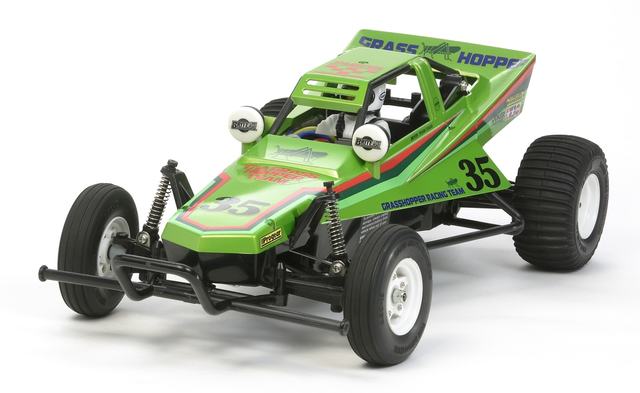 Tamiya 1:10 RC The Grasshopper 2005 Candy Green