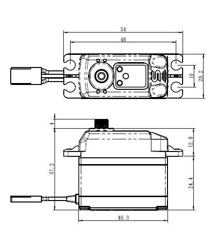 Savöx SV-1273TG Digital Servo HV