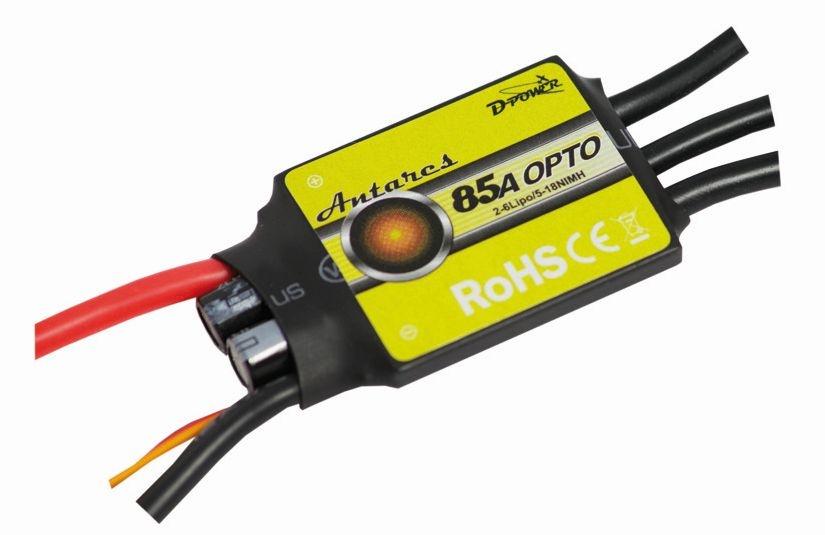 D-Power Antares 85A Opto Brushless Regler
