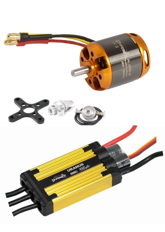 D-Power Brushless Set AL 2835-6 & 45A URANUS Regler