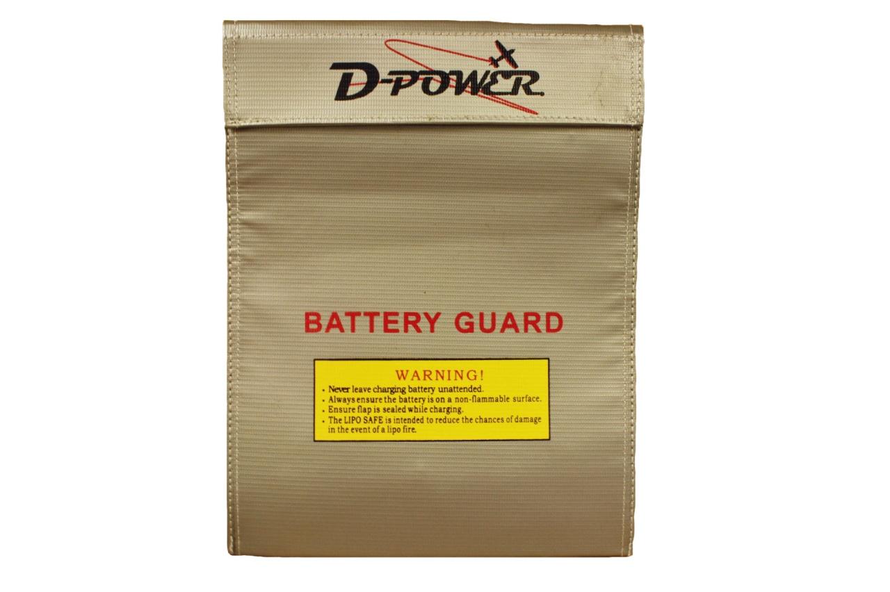 D-Power Lipo Schutz-Tasche - Safe Bag