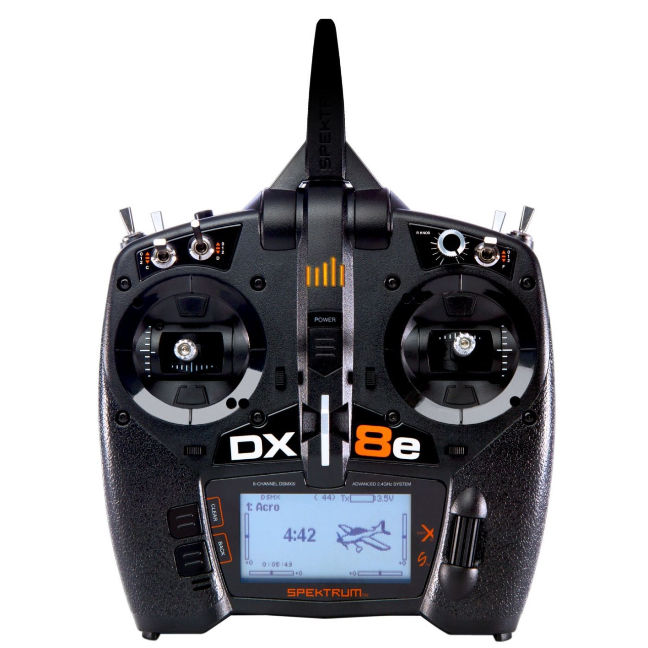DX8e 8Channel Transmitter Only