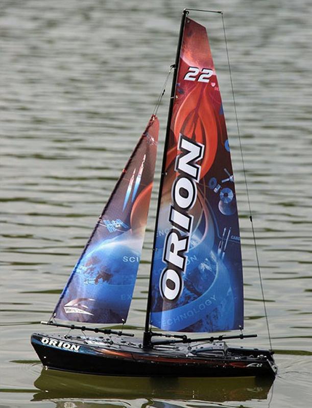 Joysway ORION Segelboot 2,4GHz RTR schwarz