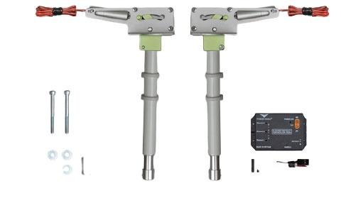 Phoenix elektrisches Einziehfahrwerk 2-Bein bis 14kg -