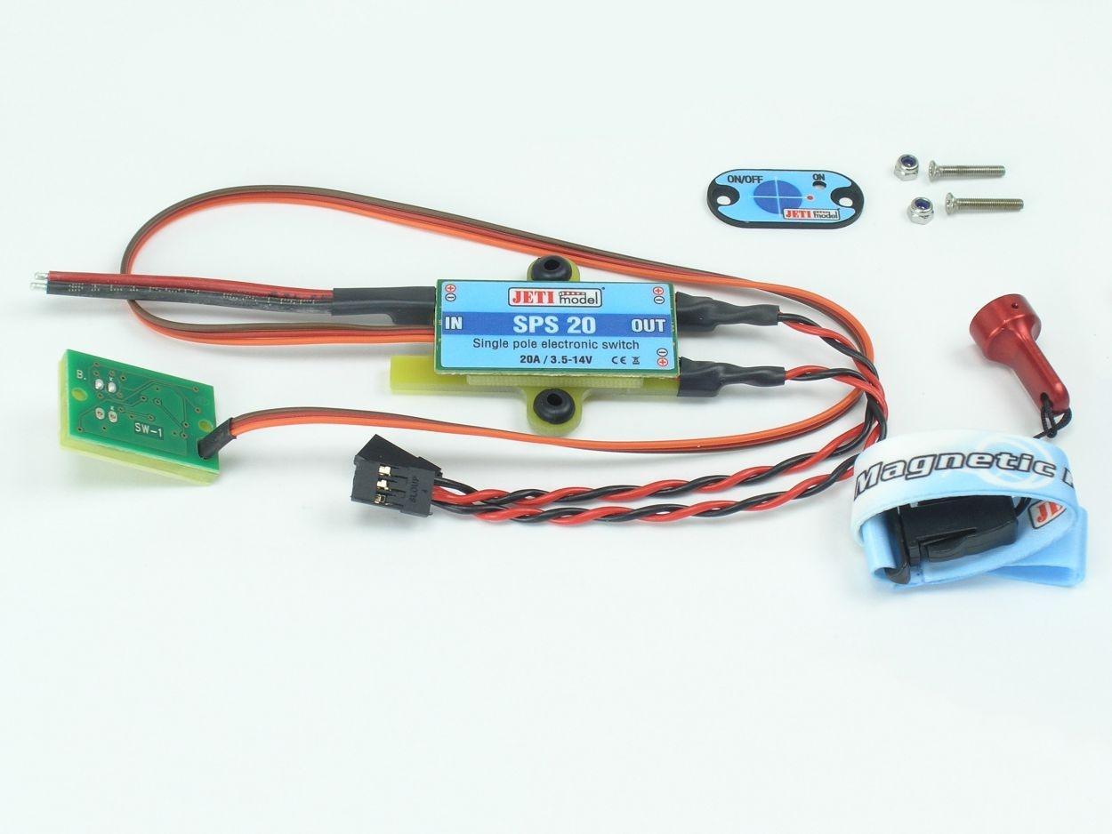 Jeti Universal Switch 20A - Schalter