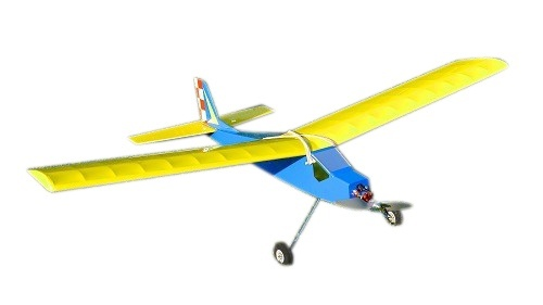 RBC Kits Jimmy Retro Trainer Holzbausatz - 100 cm