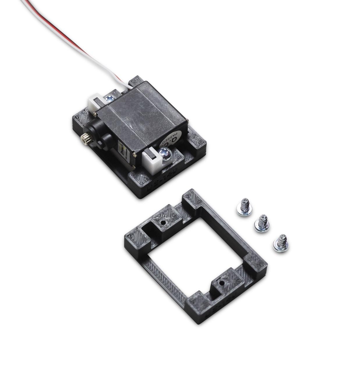 D-Power Servorahmen für Servo DS-140BBMG