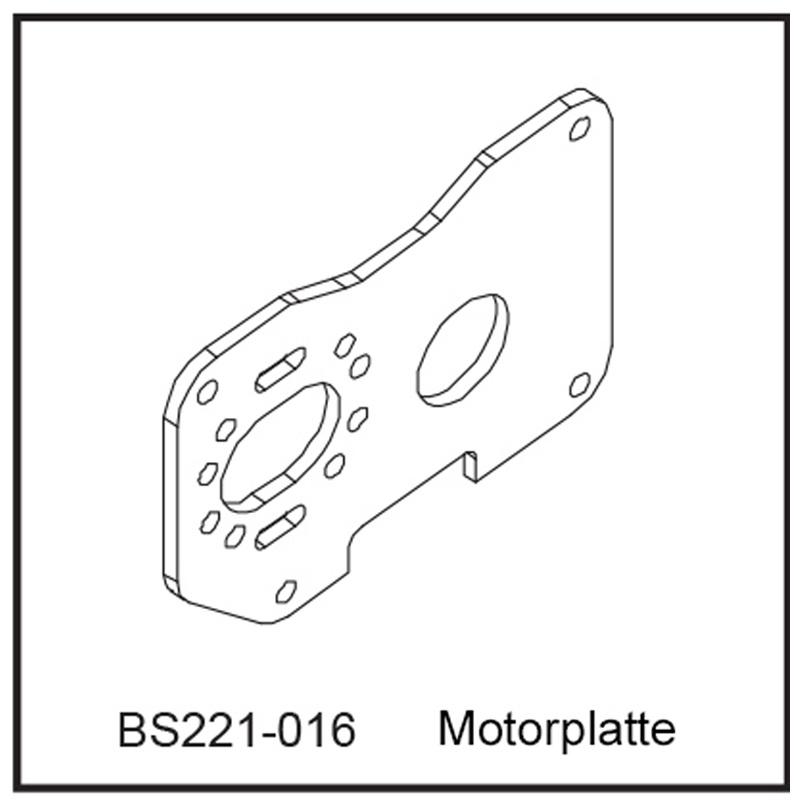 Motorplatte - BEAST BX / TX