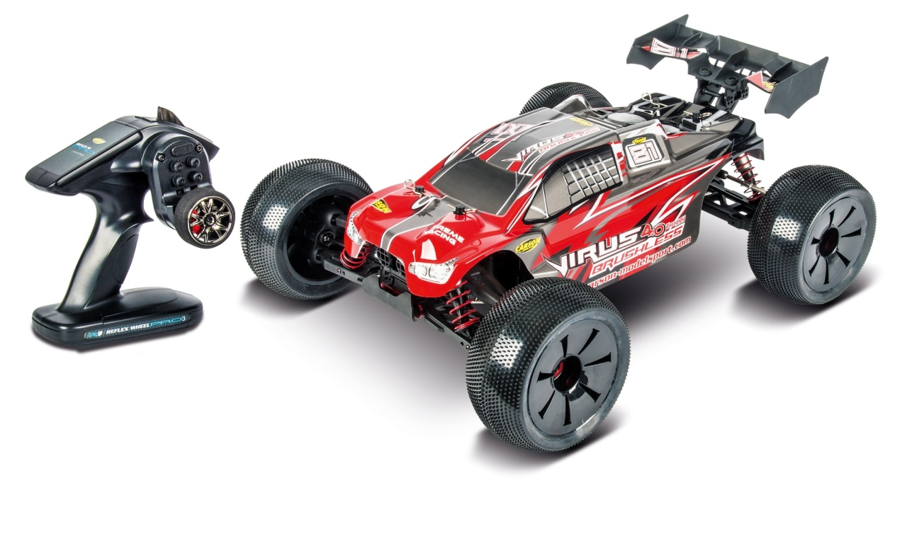 Carson 1:8 Virus Pro 4.0 Truggy BL 2.4GHz RTR