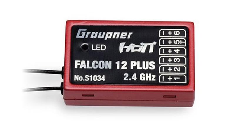 Graupner Falcon 12 plus HoTT - 2.4 GHz Empfänger