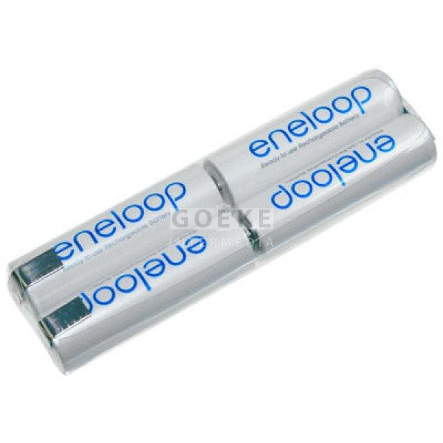 eneloop AA-Doppelreihe mit 4 Zellen 4,8 Volt 1900 mAh