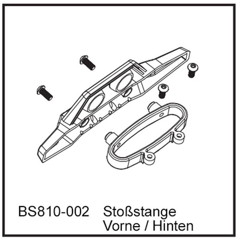 Stoßstange Vo / Hi - BEAST TX