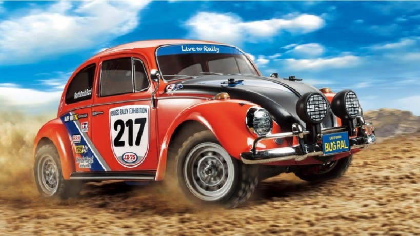 Tamiya VW Beetle Rally 1:10