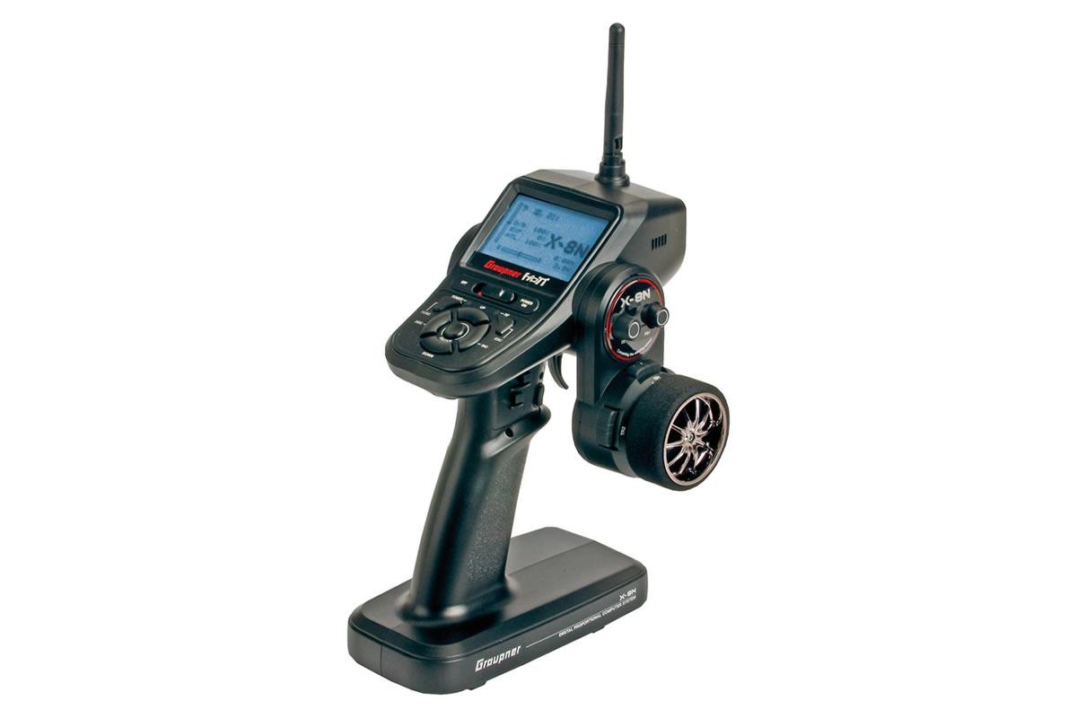 Graupner X-8N Colt Sender - HoTT 2.4GHz Fernsteuerung