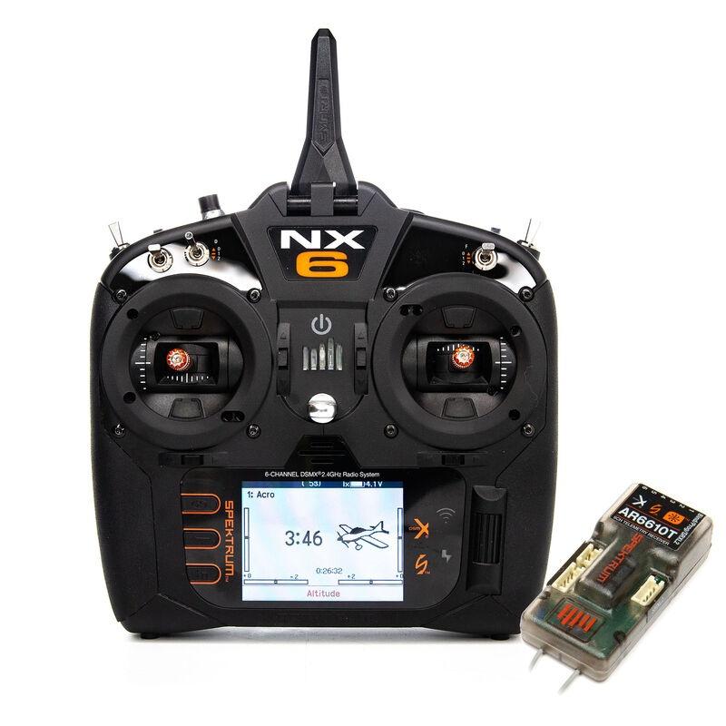NX6 6-Kanal Fernsteuerung mit AR6610T Empfänger