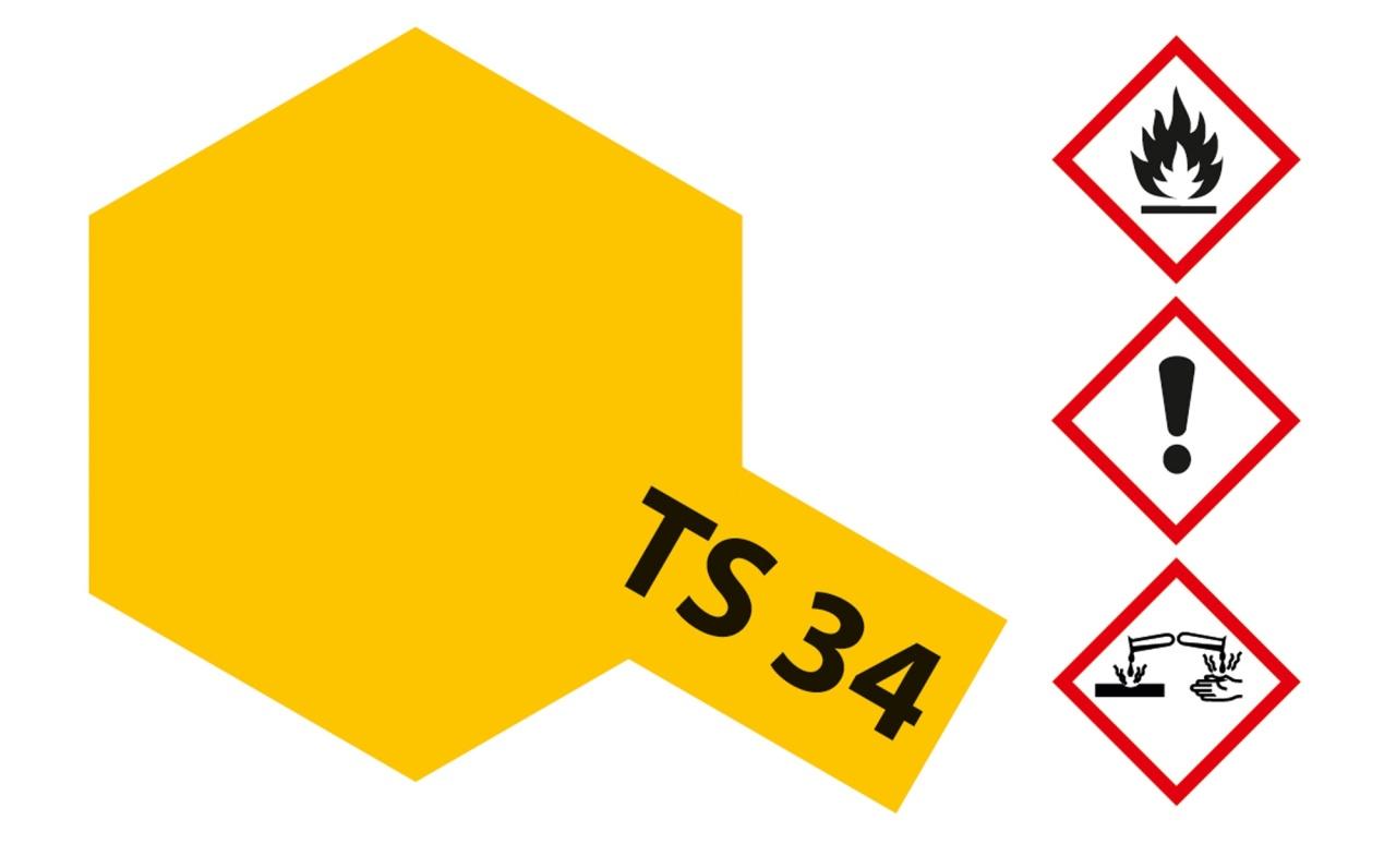 Tamiya TS-34 Camelgelb glänzend Acryl 100ml