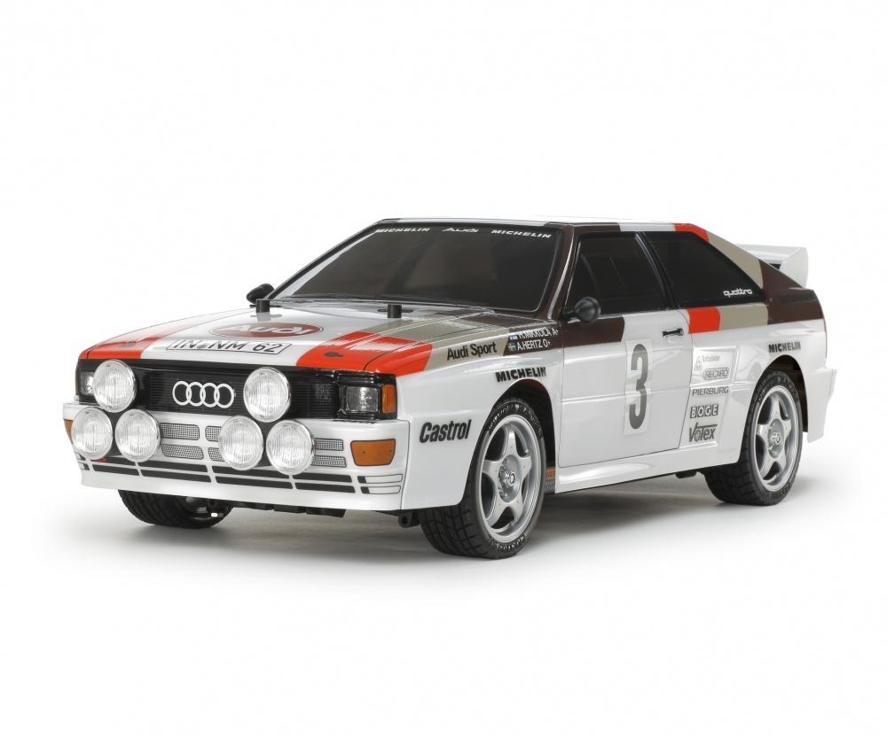 Tamiya 1:10 RC Audi Quattro Rally A2 TT-02