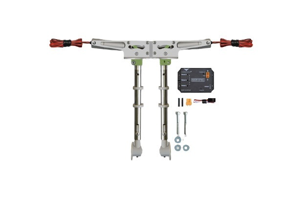 Phoenix elektrisches Einziehfahrwerk 2-Bein bis 7kg -