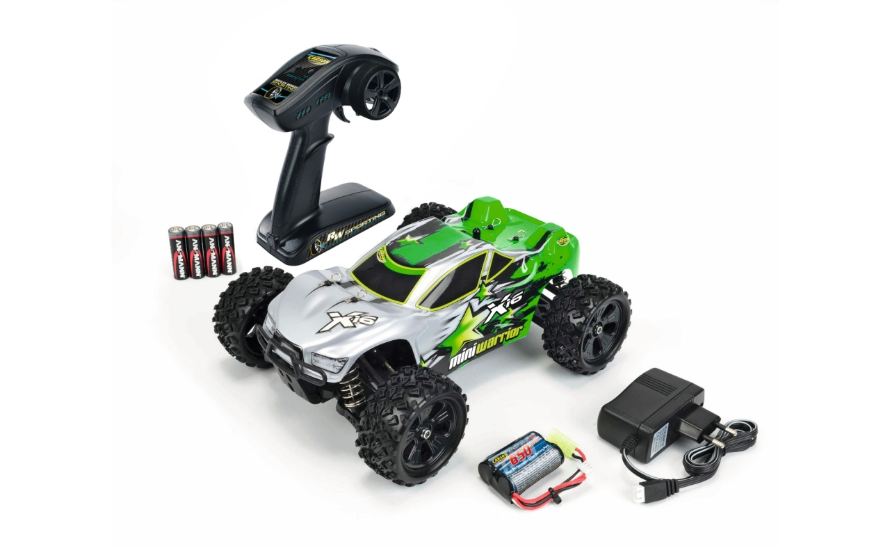 Carson 1:16 X16 Truggy Mini Warrior 2.4 GHz 100% RTR